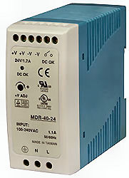 48VDC 40W Power Supply Din-Rail 11089