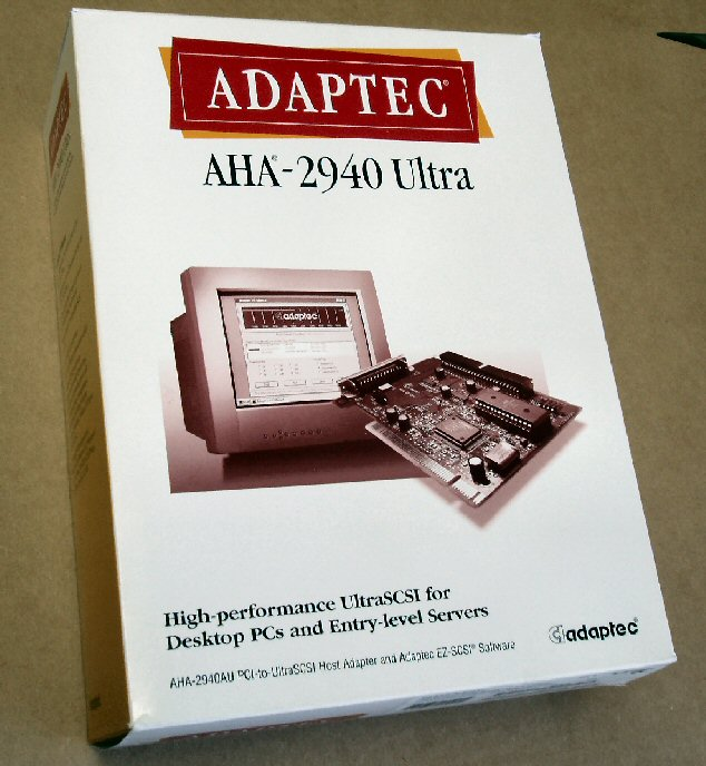 Adaptec AHA-2940 Ultra SCSI Host Bus Adapter