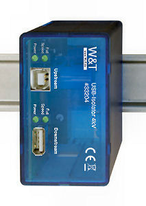 W&T 33204 USB Isolator with 4kV isolation voltage