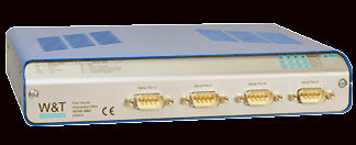 W&T 58034 Com-Server High speed Office - 4 Serial Ports