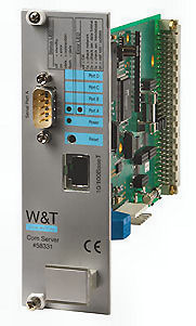 "W&T 58331 Com-Server Highspeed 19"" version, 1 serial port"