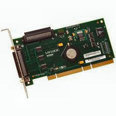 LSI - LSIU320 PCI-X Ultra 320 SCSI Host Bus Adapter - Click Image to Close