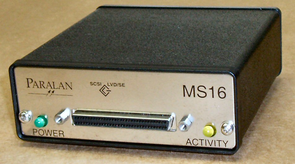 MS16A SCSI Converter - Click Image to Close