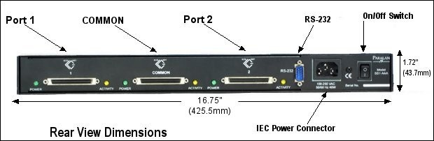 SS1-SSS-R SCSI Switch