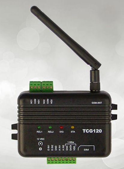 GSM-GPRS Remote Monitoring TCG120