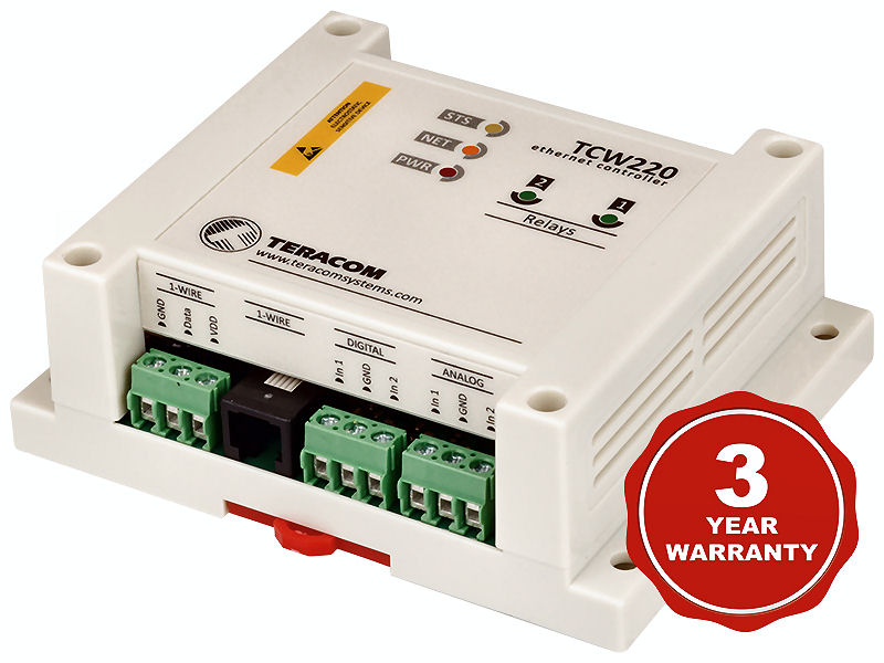 Teracom Ethernet data logger TCW220