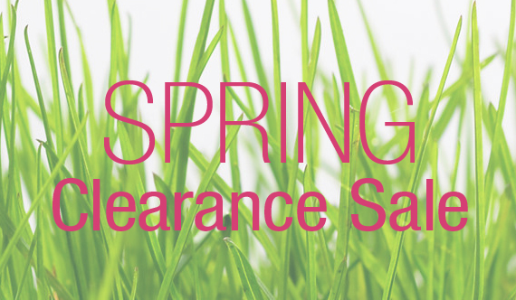 Spring Clearance Sales Items