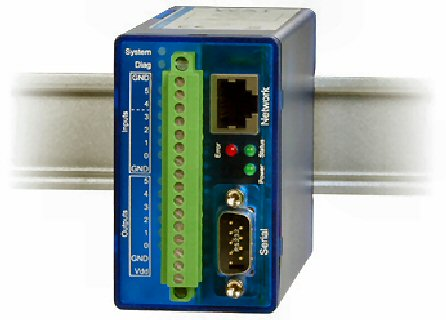 Web-IO Digital Logger via Ethernet-TCP/IP Model 57650