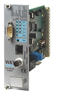 "W&T 58301 Com-Server 19"" Version Direct Connection 1 Serial Port"