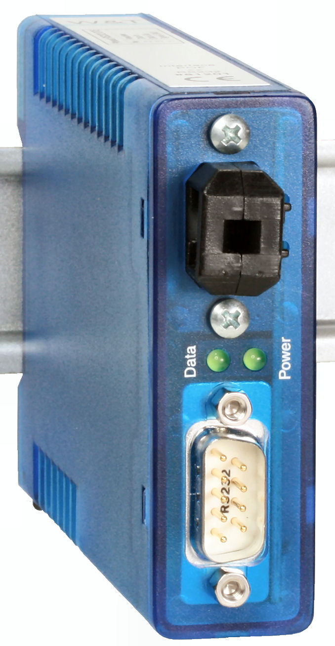 Interface - Plastic fiber optic: Model 81201