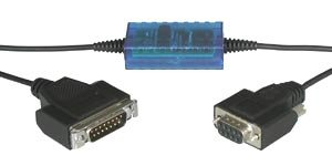 RS232 20mA S5 Interface Cable, 4 kV Isolated: