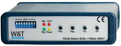 RS232 Battery Buffer, 4 MB: Model 88241
